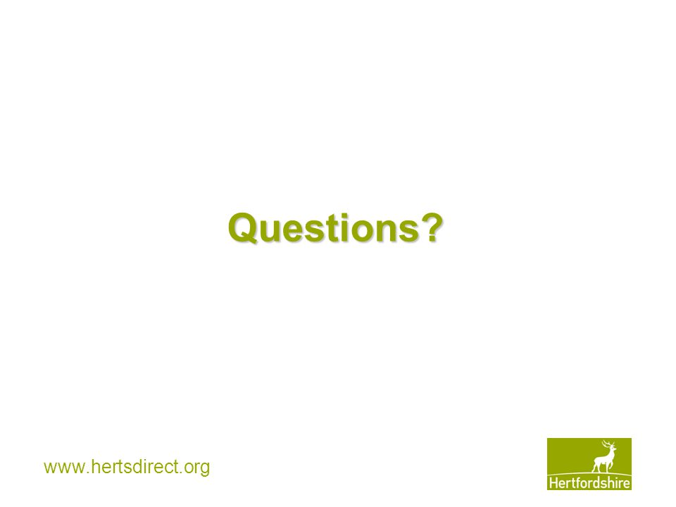 www.hertsdirect.org Questions?