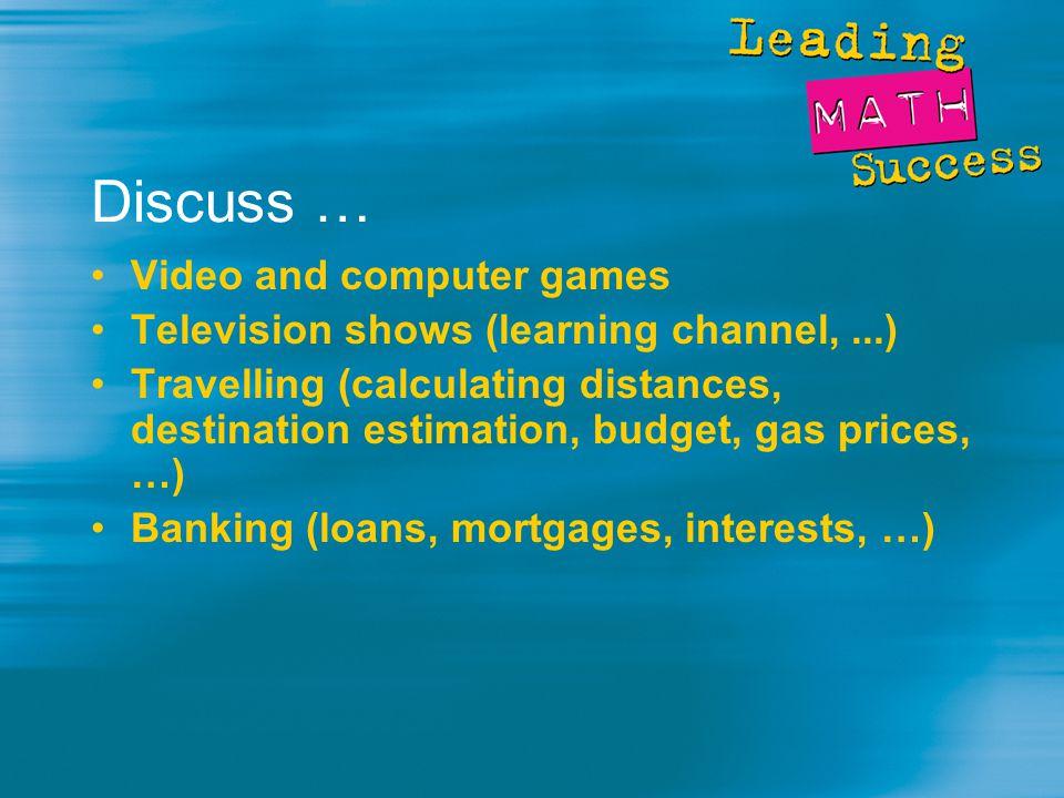 Home Activities … Play games - Chess, Checkers, Cribbage, Bridge, Euchre, Memory Games, Backgammon, ….