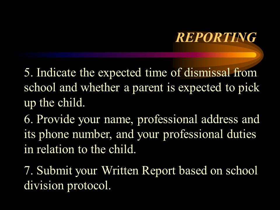 REPORTING 5.