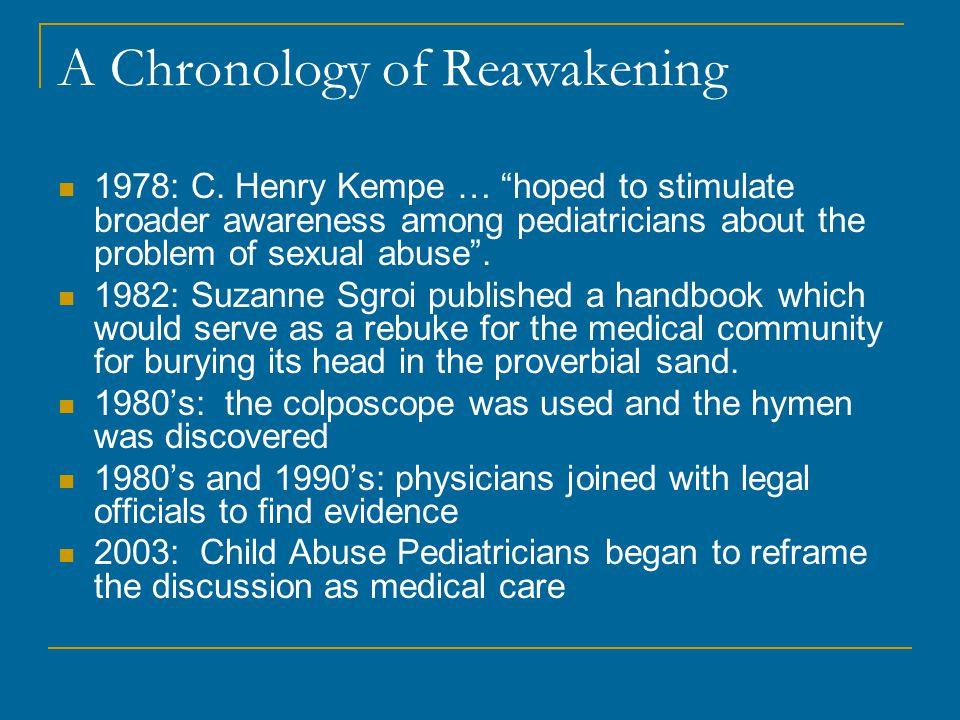 A Chronology of Reawakening 1978: C.