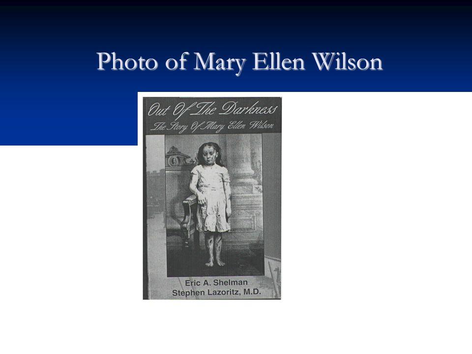 Photo of Mary Ellen Wilson