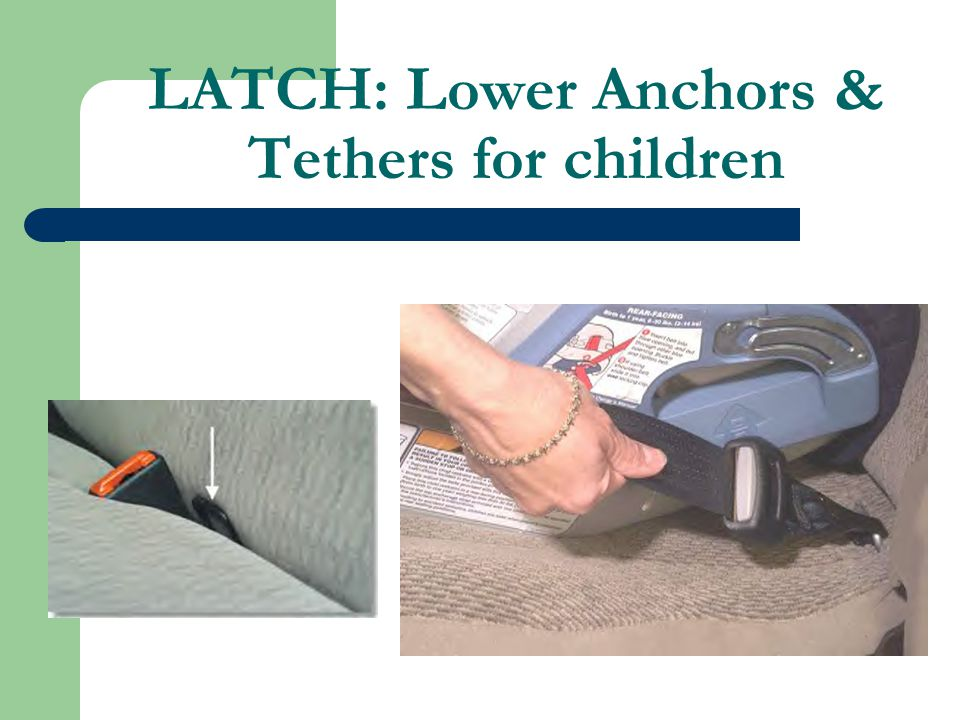 LATCH: Lower Anchors & Tethers for children