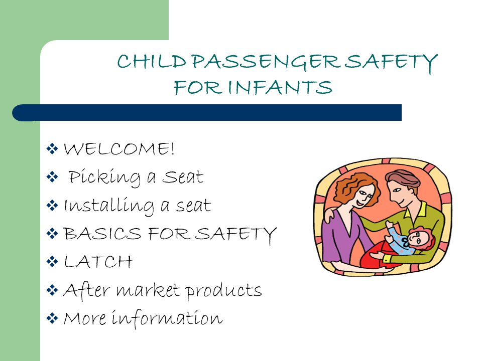 WHAT IS SO IMPORTANT ABOUT CHILD PASSENGER SAFETY.
