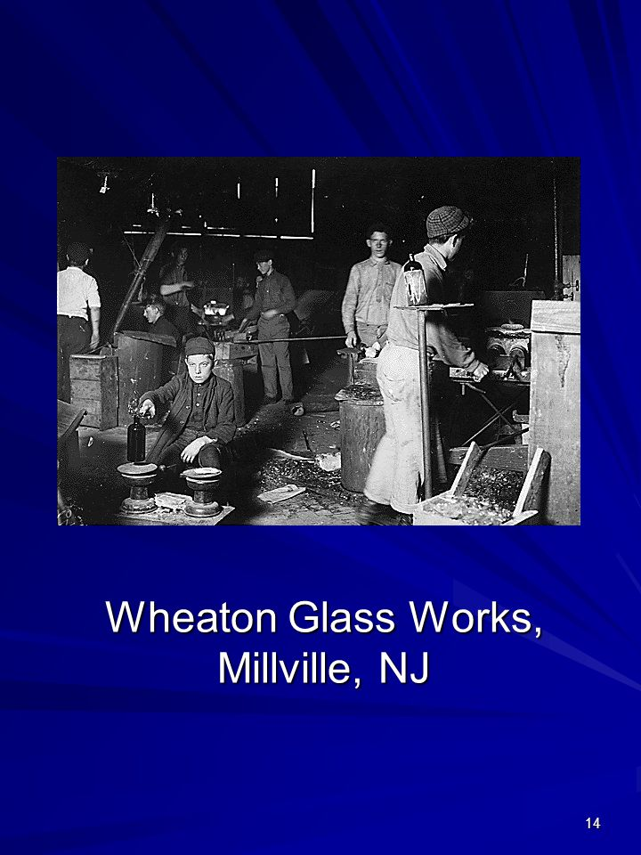 14 Wheaton Glass Works, Millville, NJ
