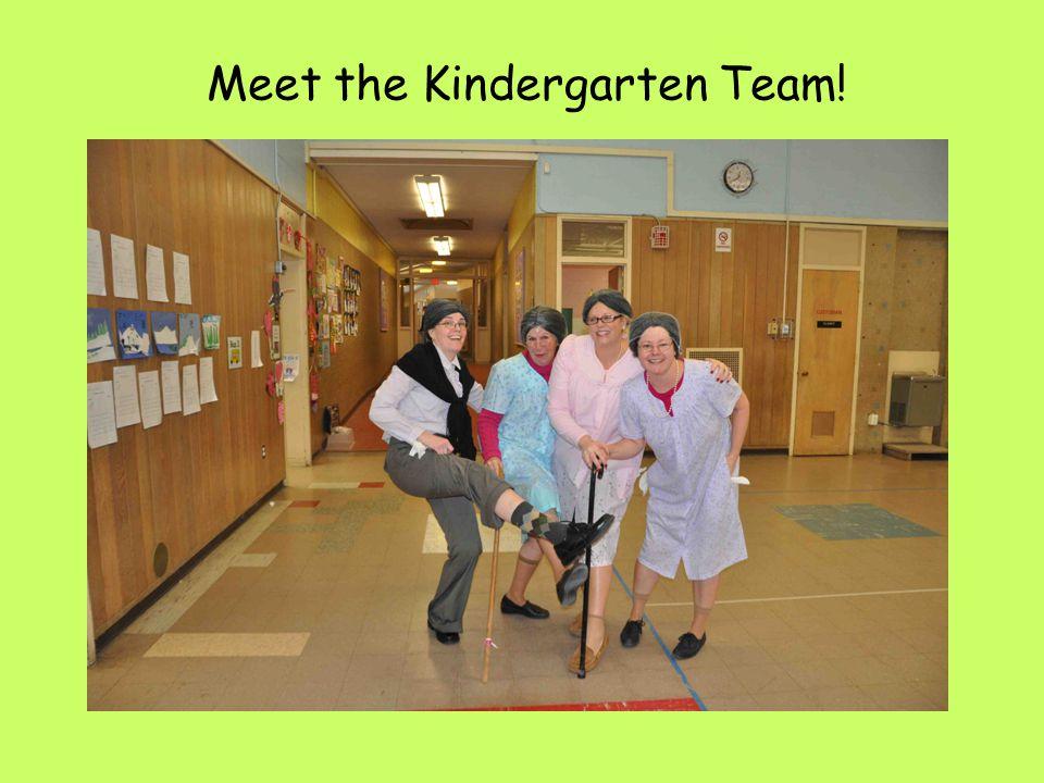Meet the Kindergarten Team!