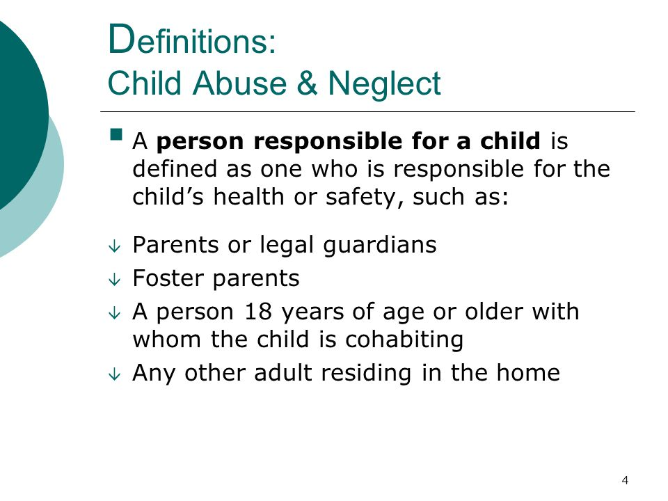 15 Reporting: WHO. Who is Required to Report Suspected Child Abuse.