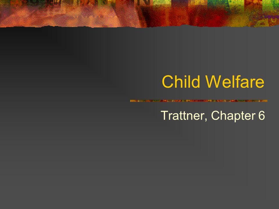 Child Welfare Trattner, Chapter 6