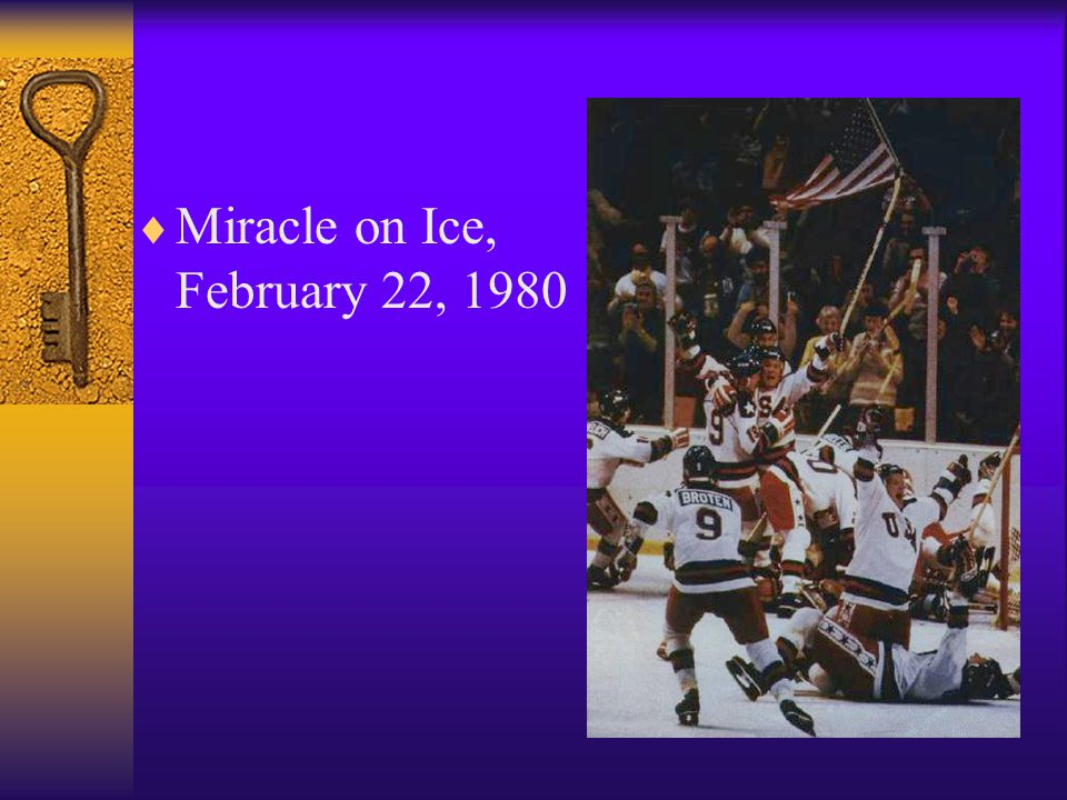  Miracle on Ice, February 22, 1980