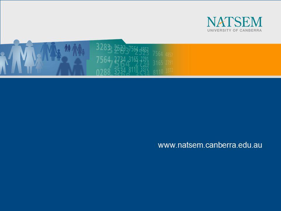 www.natsem.canberra.edu.au