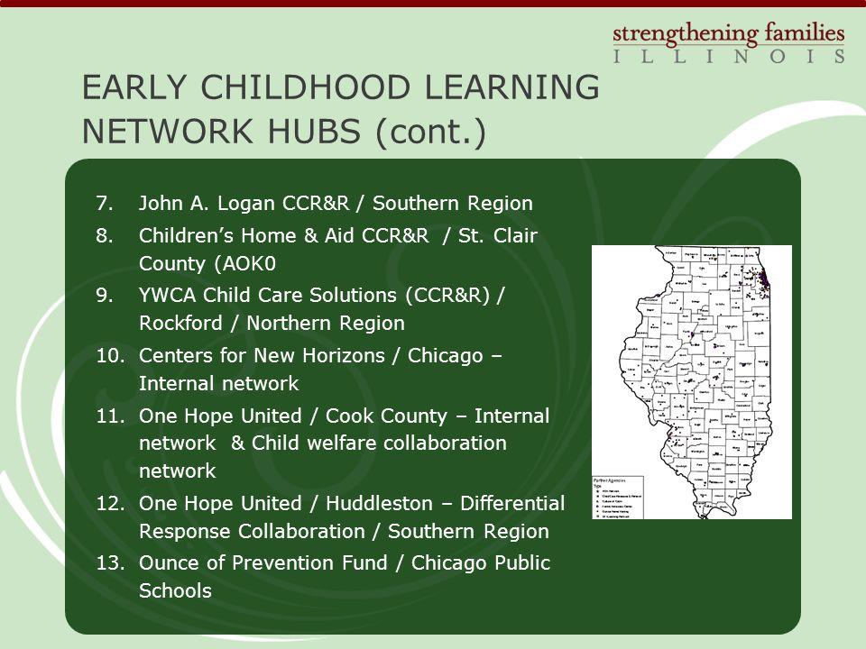 7.John A. Logan CCR&R / Southern Region 8.Children's Home & Aid CCR&R / St.