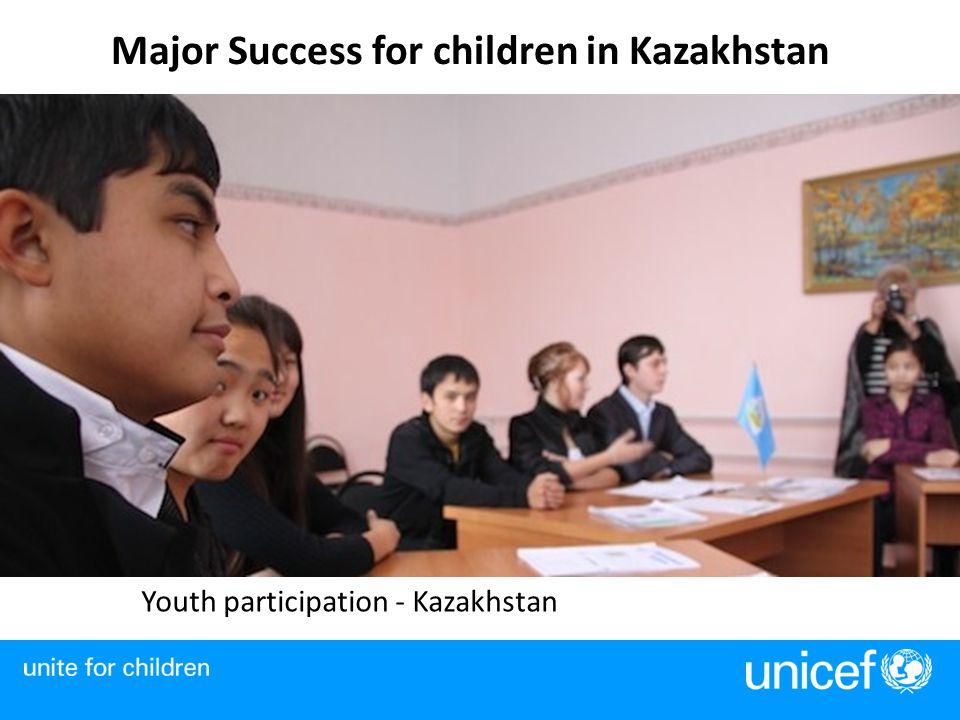 Major Success for children in Kazakhstan Youth participation - Kazakhstan
