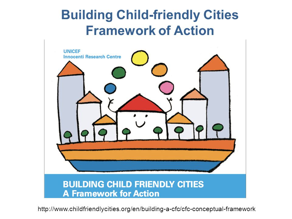 Building Child-friendly Cities Framework of Action http://www.childfriendlycities.org/en/building-a-cfc/cfc-conceptual-framework