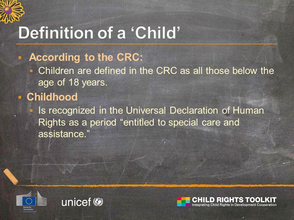  Non-discrimination  Best interests of the child  Life, survival, and development  Participation