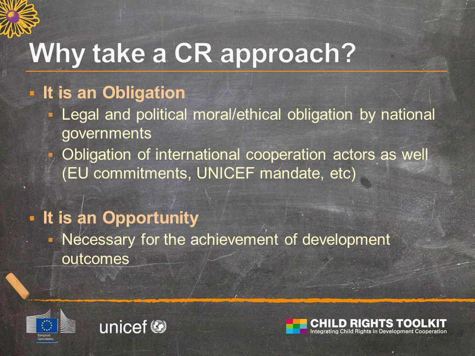 Translating the CRC commitments into practice 1.Legislation must be compatible with the CRC 2.