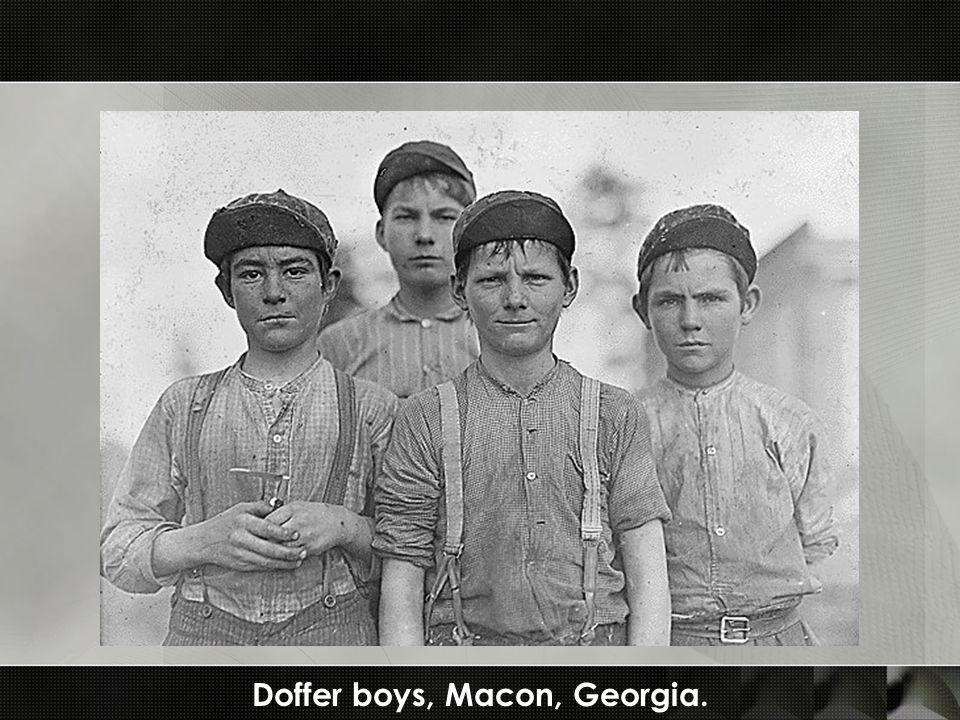 Doffer boys, Macon, Georgia.