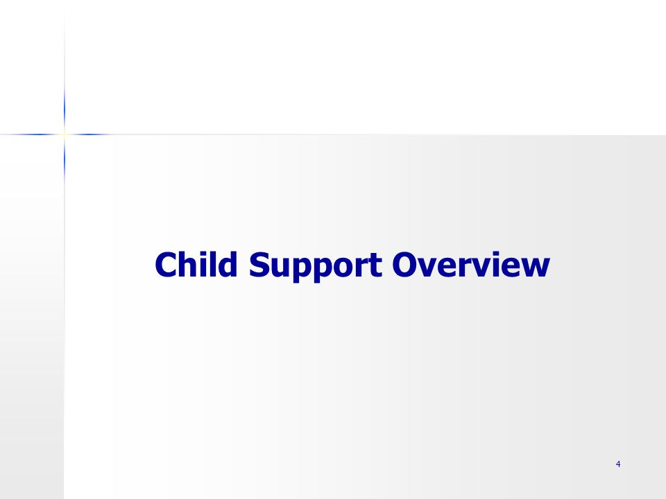 Child Support Overview 4