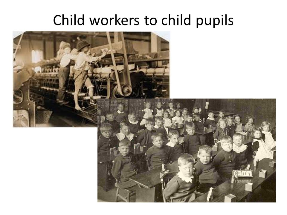 Child workers to child pupils