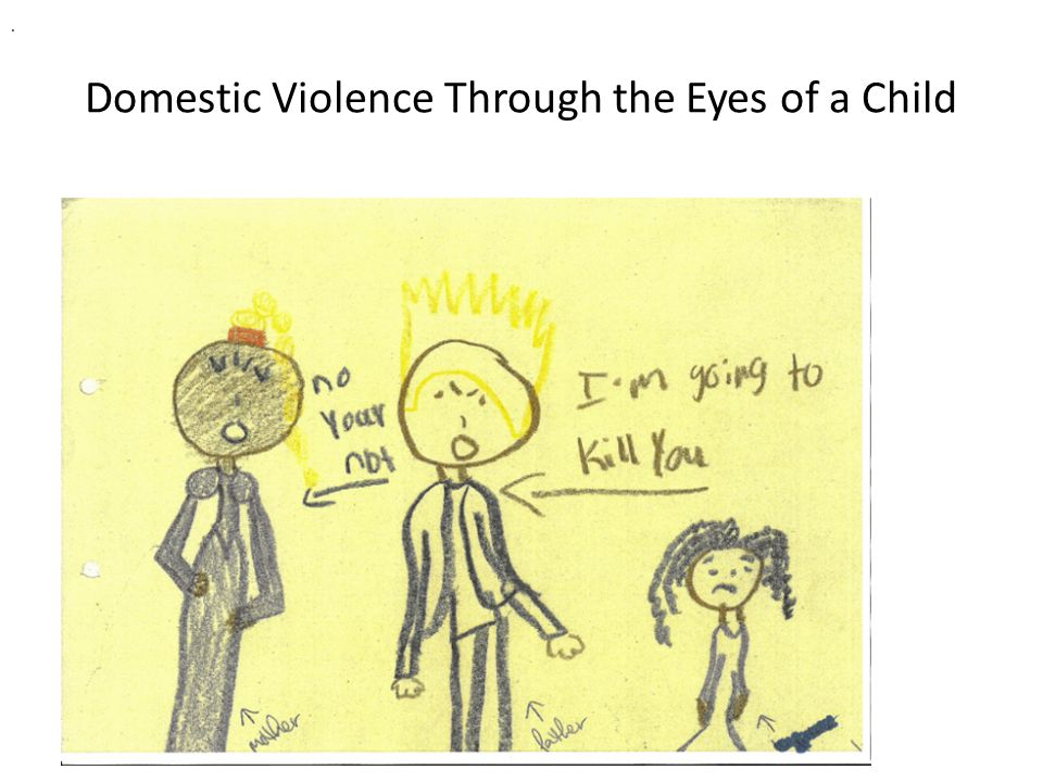 Domestic Violence Through the Eyes of a Child.