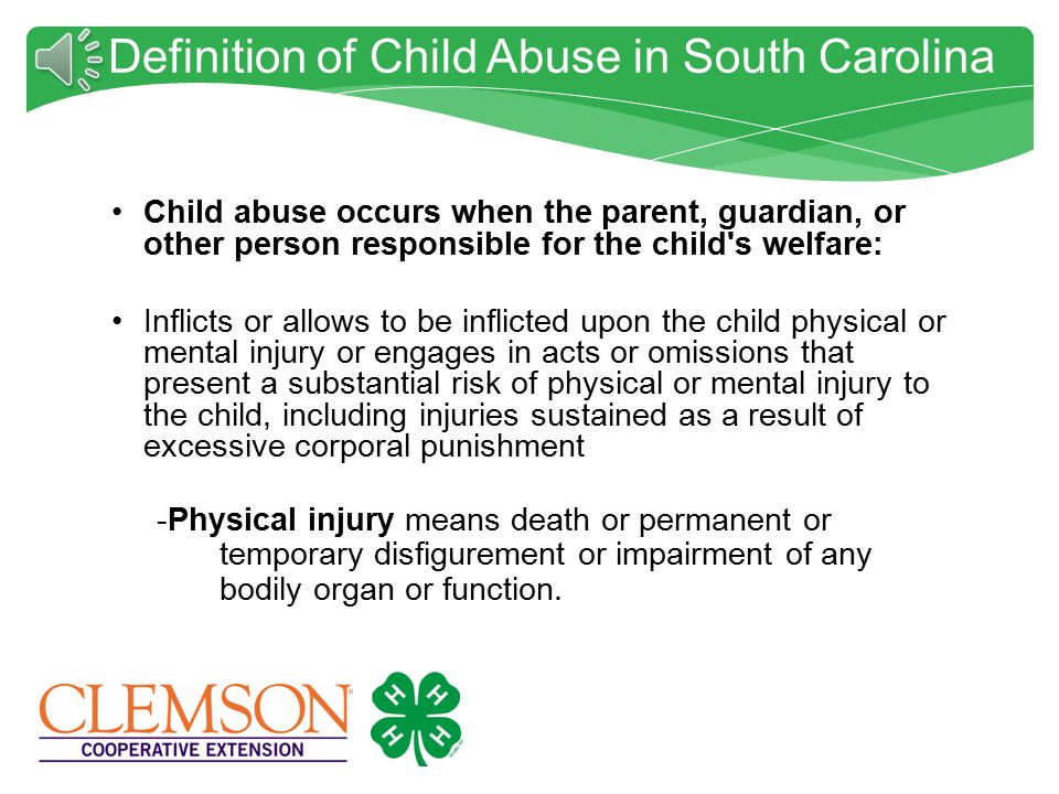 Child Abuse Prevention & Detection 4-H Volunteer Training