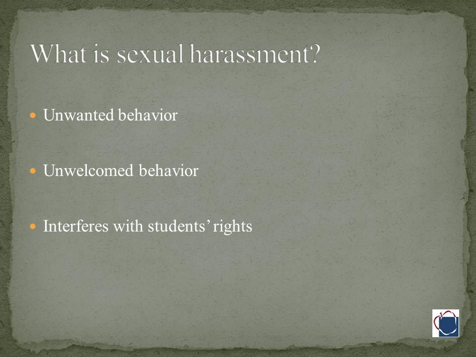 Title IX Employees and volunteers are protected Can be hard to identify