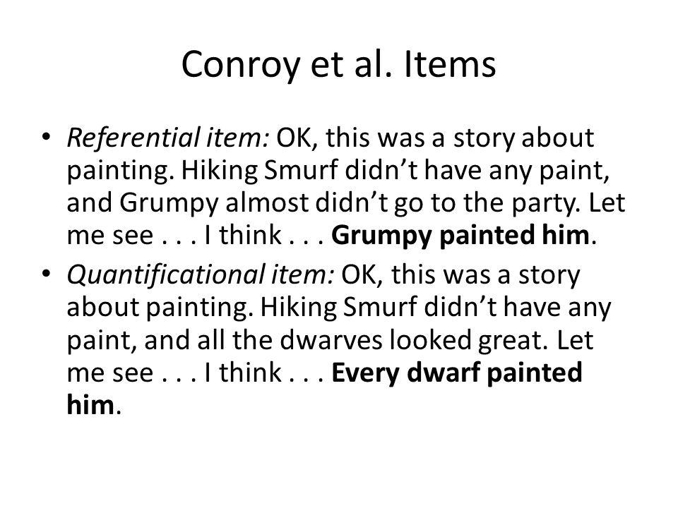 Conroy et al.