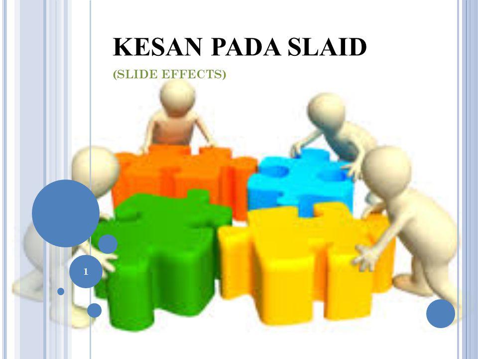KESAN PADA SLAID (SLIDE EFFECTS) 1