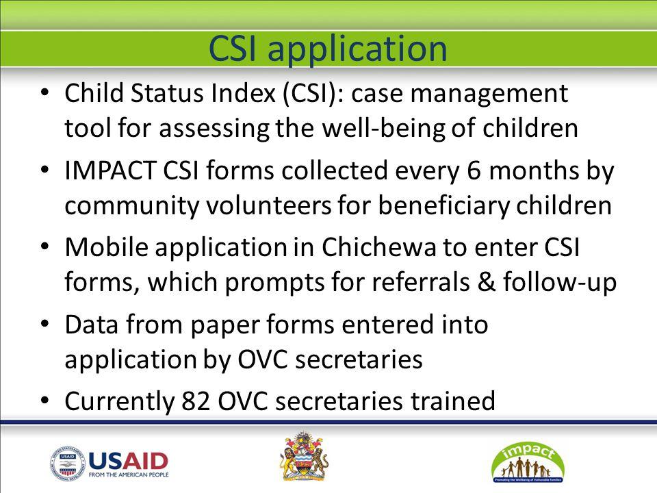 CSI application