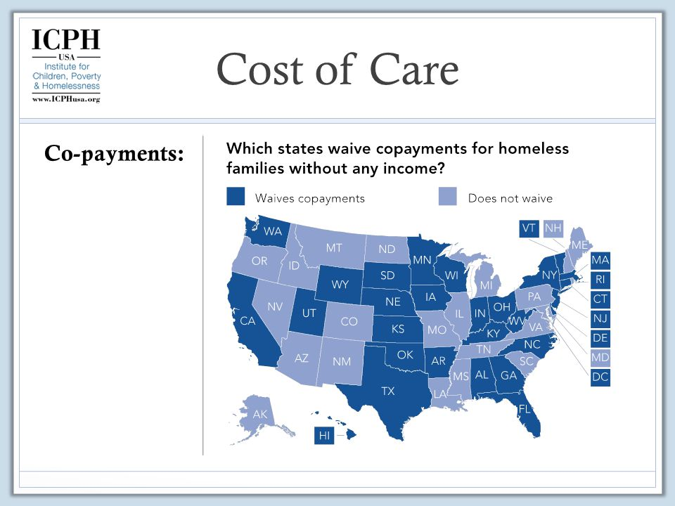 Co-payments: Cost of Care