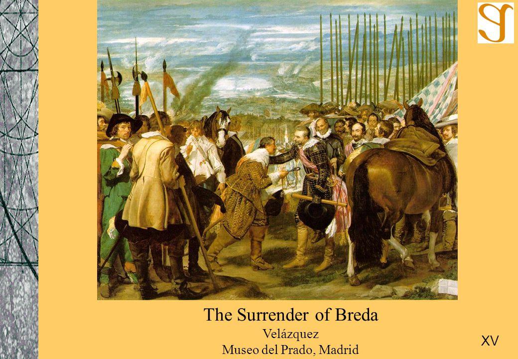 The Surrender of Breda Velázquez Museo del Prado, Madrid XV