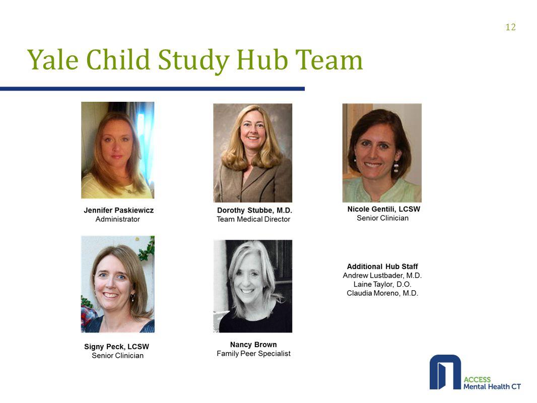 Yale Child Study Hub Team 12