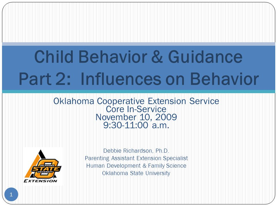 Effects of Parenting on Child's Self-Regulation 32 Parental warmth, high responsiveness, and synchrony → current and later compliance Warmth, empathy, and supportiveness → later capacity for empathy, negotiation, social competence, and prosocial behavior Hostile and conflictual interactions → defiance, extreme disobedience, and conduct problems Children in authoritative families → more competent, socially responsive, and have higher grades than authoritarian or permissive