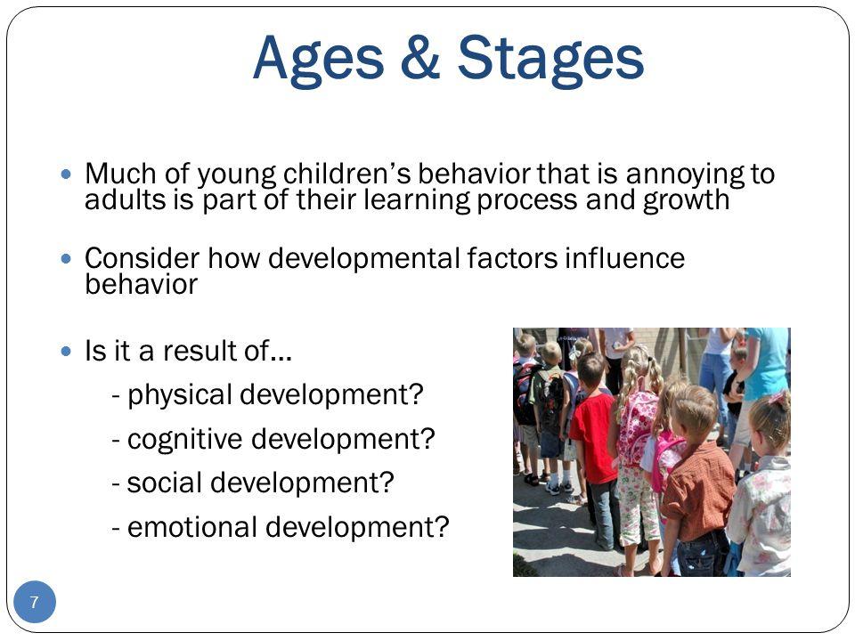 Influences on Behavior 28 Parenting **** Environment