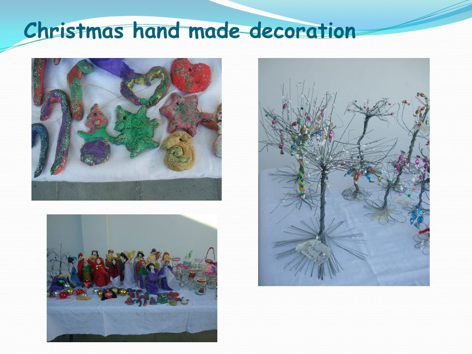 Christmas hand made decoration
