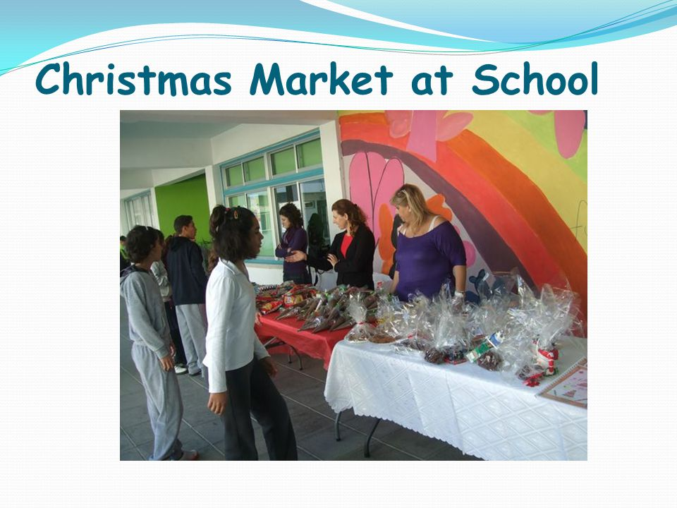 Christmas Market at School
