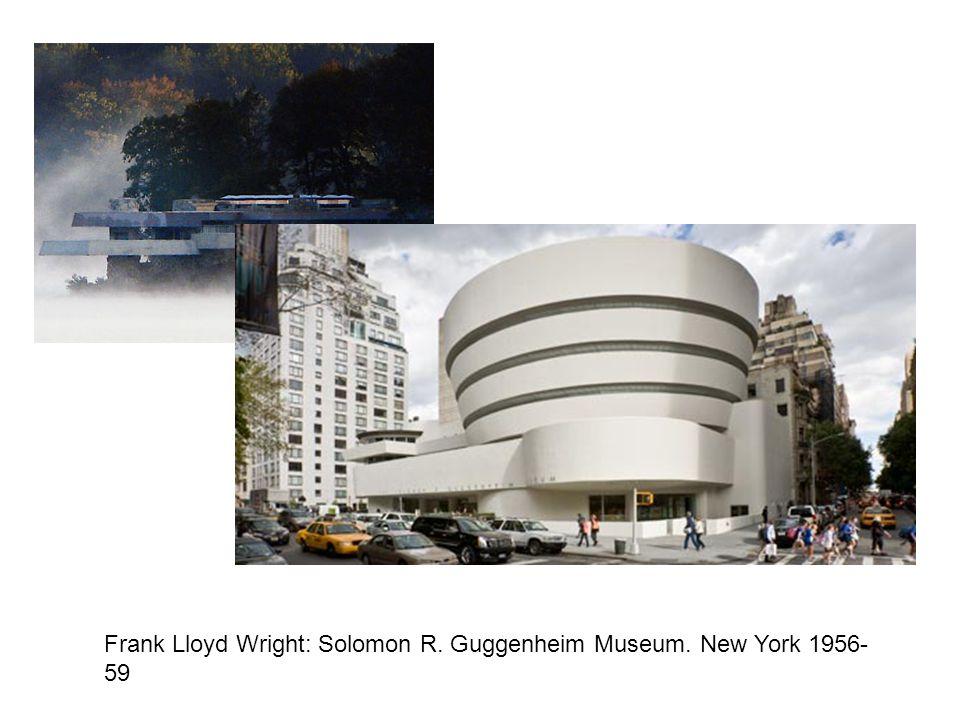 Frank Lloyd Wright: Solomon R. Guggenheim Museum. New York 1956- 59
