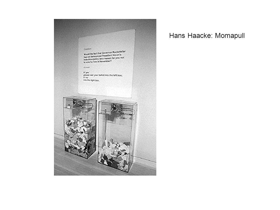 Hans Haacke: Momapull