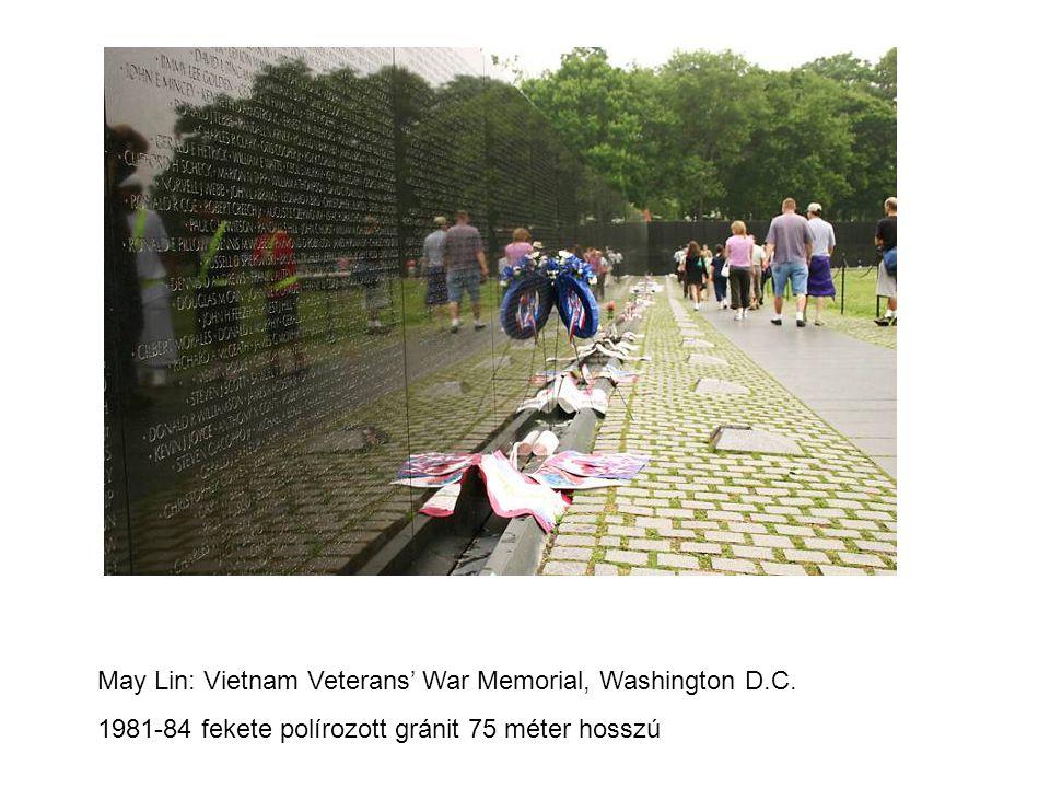 May Lin: Vietnam Veterans' War Memorial, Washington D.C.