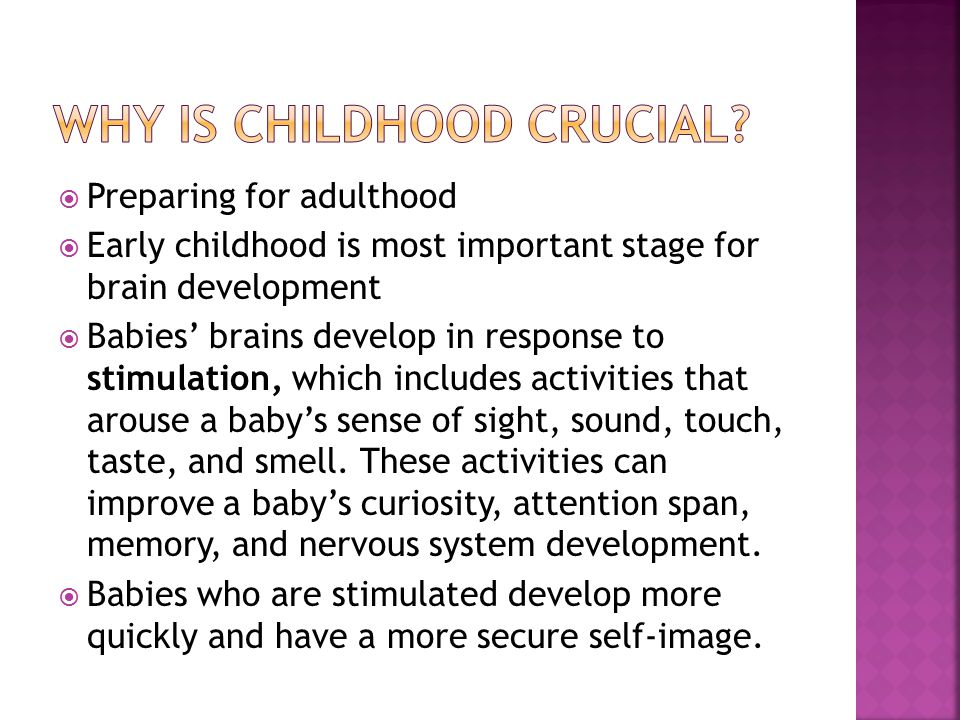 Researchers have found that child development follows five general rules:  Development is similar for each individual – children go through the same stages in about the same order  Development builds upon early learning – it follows a sequence and builds on skills mastered previously  Development proceeds at an individual rate – each child goes through these stages at his/her own pace
