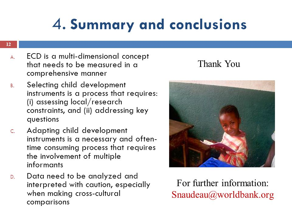 4. Summary and conclusions A.