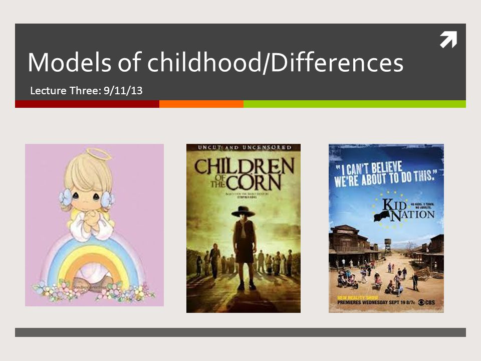 I'm not that innocent…  Children's literature and culture are shaped by society's attitudes regarding childhood.