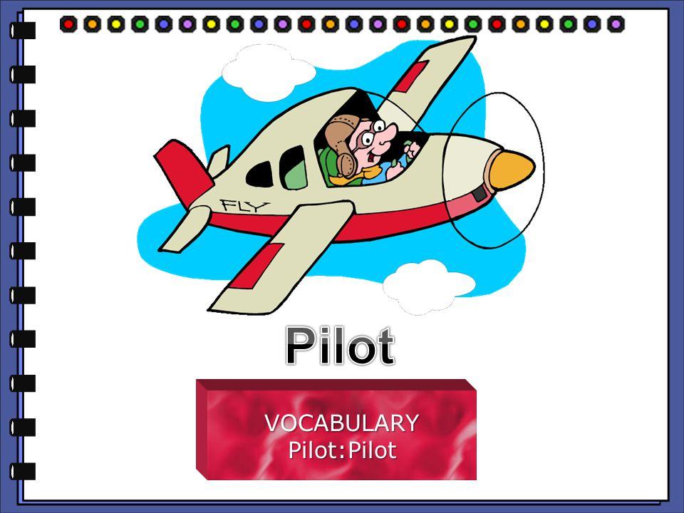 VOCABULARYPilot:Pilot