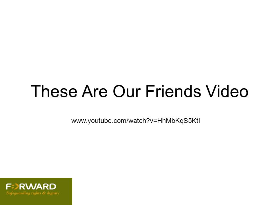 These Are Our Friends Video /www.youtube.com/watch?v=HhMbKqS5KtI