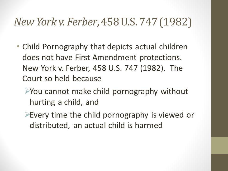 New York v. Ferber, 458 U.S.