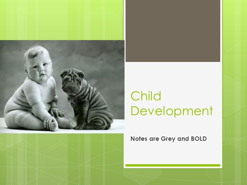Social development in Infancy and Childhood.