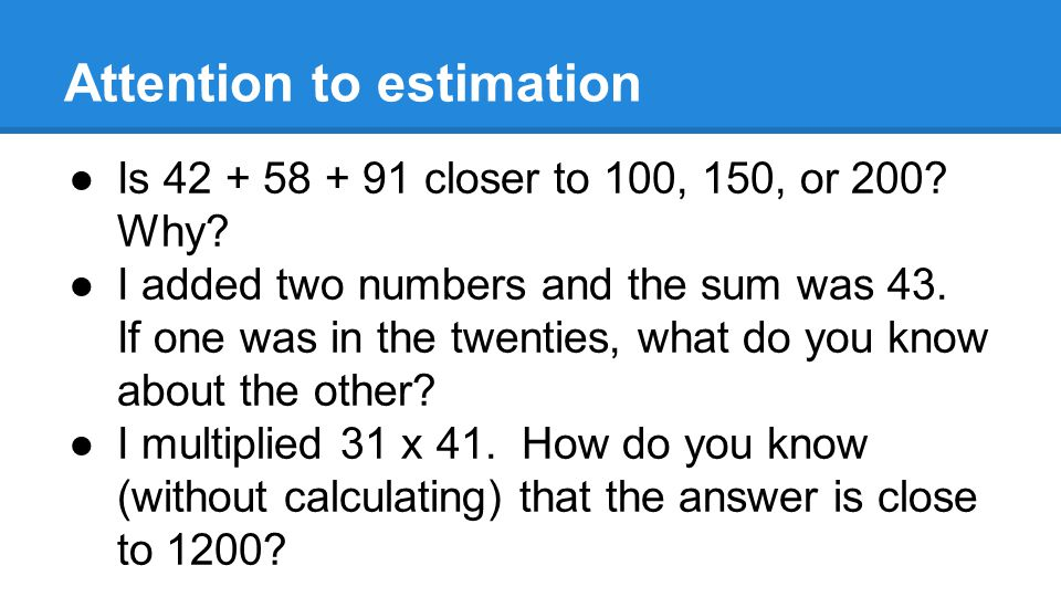 What can you do.●Be positive about Math ●ask little questions in passing e.g.