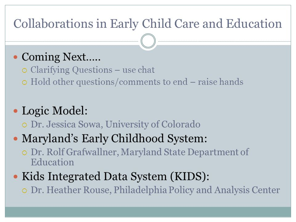 Kids Integrated Data System WHAT Integrated Individual Child/Youth Data Child Welfare & Human Services Vital Statistics Health Department of Behavioral Health (mental health) Early Intervention Public Education Emergency Shelter Services and Supportive Housing University Researchers, Public Service Providers, & local Foundation WHO Co-Founders: John Fantuzzo, Dennis Culhane, & Trevor Hadley; University of Pennsylvania