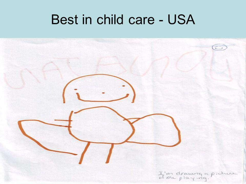 Best in child care - USA