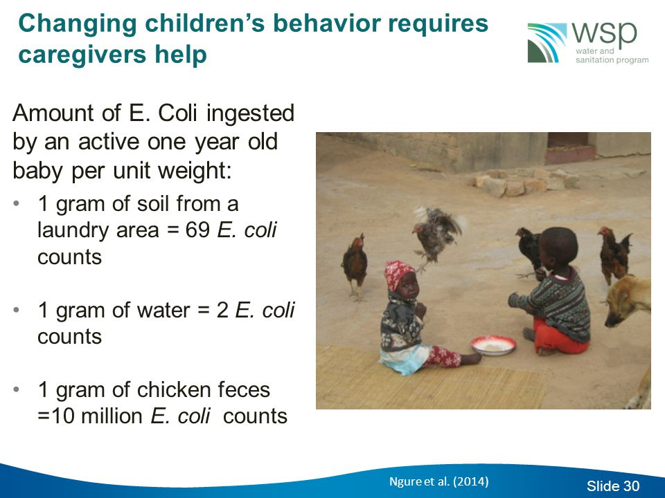 Slide 30 Changing children's behavior requires caregivers help Amount of E.