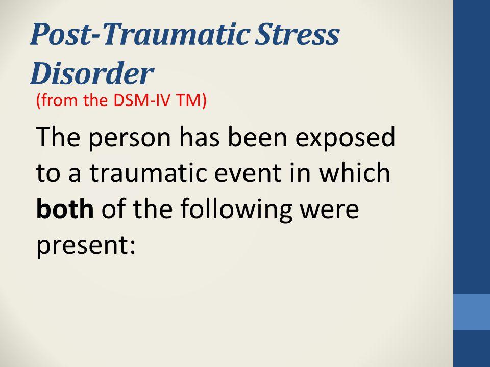 Personal Symptoms of Secondary Traumatic Stress Cognitive Symptoms Emotional Symptoms Behavioral Symptoms Spiritual Symptoms Interpersonal Symptoms Physical Symptoms (Yassan, 1995)