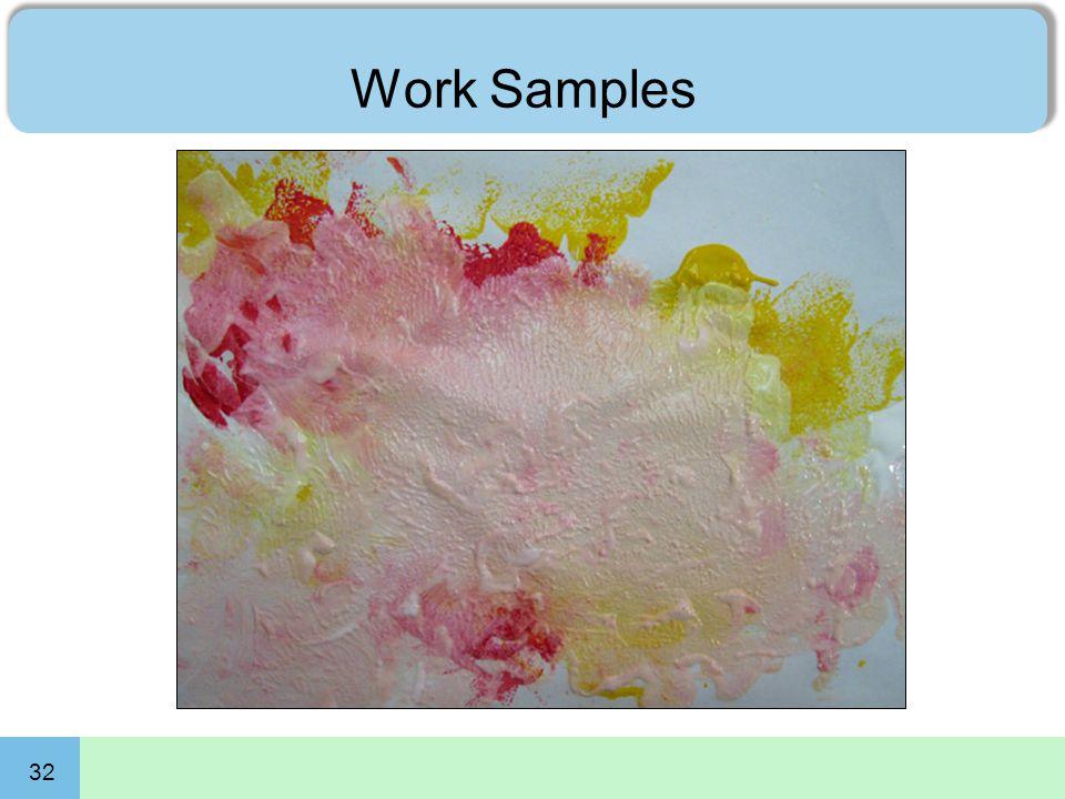 32 Work Samples